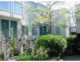 """Photo 1: 312 3727 W 10TH Avenue in Vancouver: Point Grey Townhouse for sale in """"FOLKSTONE"""" (Vancouver West)  : MLS®# V766376"""