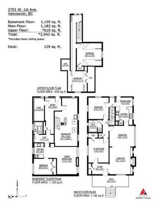 "Photo 15: 2701 W 1ST Avenue in Vancouver: Kitsilano House for sale in ""KITSILANO"" (Vancouver West)  : MLS®# R2402675"