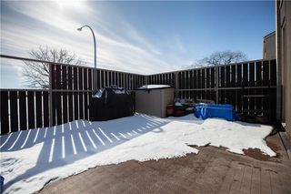 Photo 28: 180 1 Snow Street in Winnipeg: University Heights Condominium for sale (1K)  : MLS®# 202005268