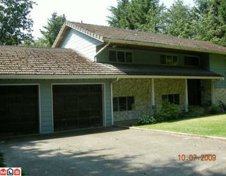 Photo 1: 17276 18TH Avenue in Surrey: Pacific Douglas House for sale (South Surrey White Rock)  : MLS®# F1000132