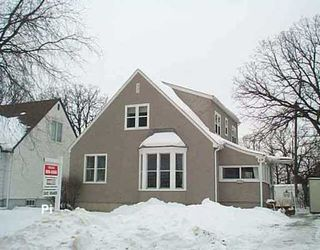 Photo 1: 327 LINWOOD Street in WINNIPEG: St James Single Family Detached for sale (West Winnipeg)  : MLS®# 2518298