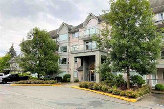 "Photo 1: 308 33668 KING Road in Abbotsford: Poplar Condo for sale in ""College Park"" : MLS®# R2468429"
