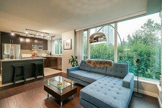 """Main Photo: 801 660 NOOTKA Way in Port Moody: Port Moody Centre Condo for sale in """"Nahanni"""" : MLS®# R2503381"""