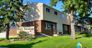 Photo 1: 300 HERMITAGE Road in Edmonton: Zone 35 Townhouse for sale : MLS®# E4167382