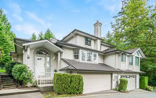 "Photo 1: 31 101 PARKSIDE Drive in Port Moody: Heritage Mountain Townhouse for sale in ""Treetops"" : MLS®# R2423114"