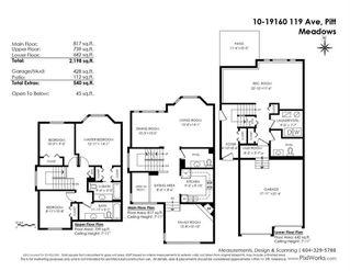 "Photo 20: 10 19160 119 Avenue in Pitt Meadows: Central Meadows Townhouse for sale in ""WINDSOR OAK"" : MLS®# R2434473"
