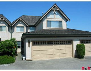 "Photo 1: 35 8567 164TH Street in Surrey: Fleetwood Tynehead Townhouse for sale in ""Monta Rosa"" : MLS®# F2821022"