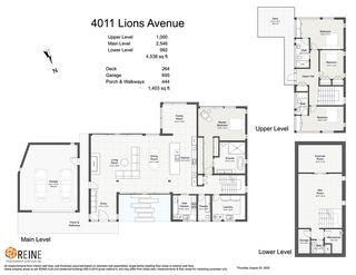 "Photo 40: 4011 LIONS Avenue in North Vancouver: Forest Hills NV House for sale in ""Forest Hills"" : MLS®# R2514322"