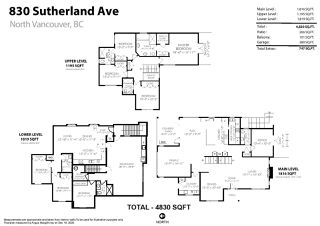 Photo 3: 830 SUTHERLAND Avenue in North Vancouver: Boulevard House for sale : MLS®# R2524977