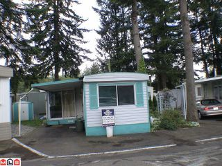 "Photo 1: 5 24330 FRASER Highway in Langley: Otter District Manufactured Home for sale in ""LANGLEY GROVE ESTATES"" : MLS®# F1015305"