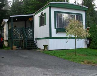 "Photo 1: 47 3295 SUNNYSIDE Road: Anmore Manufactured Home for sale in ""COUNTRYSIDE VILLAGE"" (Port Moody)  : MLS®# V781330"