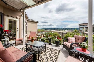 "Photo 1: 501 74 RICHMOND Street in New Westminster: Fraserview NW Condo for sale in ""GOVERNOR'S COURT"" : MLS®# R2426999"