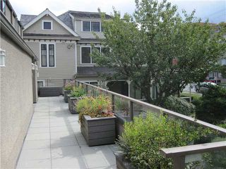 "Photo 8: 1167 W 8TH Avenue in Vancouver: Fairview VW Townhouse for sale in ""FAIRVIEW 2"" (Vancouver West)  : MLS®# V849137"
