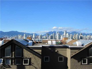 "Photo 9: 1167 W 8TH Avenue in Vancouver: Fairview VW Townhouse for sale in ""FAIRVIEW 2"" (Vancouver West)  : MLS®# V849137"