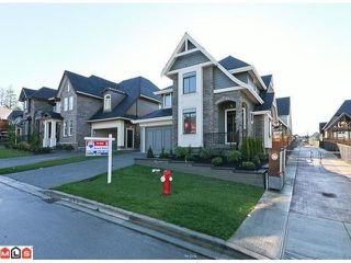 """Photo 1: 16302 26A Avenue in Surrey: Grandview Surrey House for sale in """"MORGAN HEIGHTS"""" (South Surrey White Rock)  : MLS®# F1027762"""