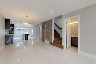 Photo 3: 9329 CONNORS Road in Edmonton: Zone 18 House Half Duplex for sale : MLS®# E4167923