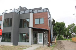 Photo 1: 9329 CONNORS Road in Edmonton: Zone 18 House Half Duplex for sale : MLS®# E4167923