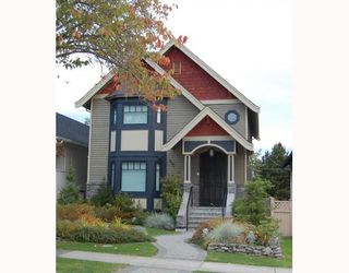 """Photo 1: 917 W 20TH Avenue in Vancouver: Cambie House for sale in """"DOUGLAS PARK"""" (Vancouver West)  : MLS®# V803088"""