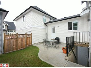 "Photo 10: 6760 193B Street in Surrey: Clayton House for sale in ""GRAMERCY PARK"" (Cloverdale)  : MLS®# F1017960"