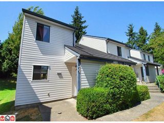 "Photo 1: 77 6657 138TH Street in Surrey: East Newton Townhouse for sale in ""Hyland Creek Estates"" : MLS®# F1019920"