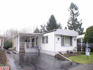 "Photo 1: 198 3665 244TH STREET Street in Langley: Otter District Manufactured Home for sale in ""Langely Grove Estates"" : MLS®# F1102945"