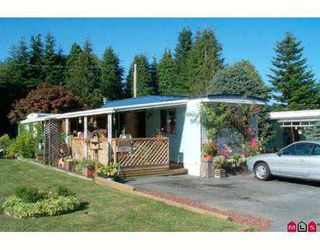 """Main Photo: 7 6280 KING GEORGE HY in Surrey: Sullivan Station Manufactured Home for sale in """"WHITE OAKS"""" : MLS®# F2503397"""