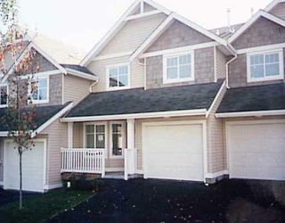 "Photo 1: 4 11255 232ND Street in Maple_Ridge: East Central Townhouse for sale in ""HIGHFIELD"" (Maple Ridge)  : MLS®# V759237"