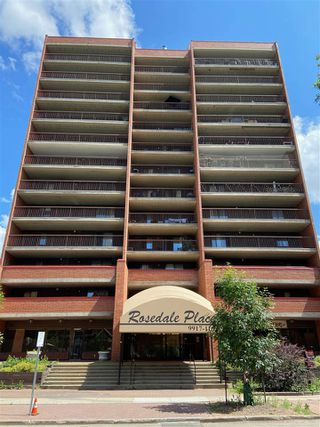 Photo 1: 1007 9917 110 Street in Edmonton: Zone 12 Condo for sale : MLS®# E4205740