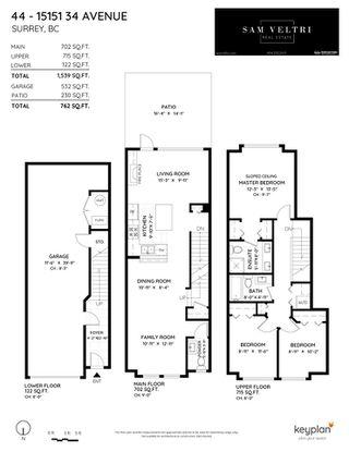 "Photo 35: 44 15151 34 Avenue in Surrey: Morgan Creek Townhouse for sale in ""SERENO"" (South Surrey White Rock)  : MLS®# R2525553"