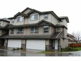 "Photo 1: 41 3127 SKEENA Street in Port Coquitlam: Riverwood Townhouse for sale in ""RIVER'S WALK"" : MLS®# V864285"
