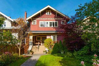 Photo 1: 3535 W 1ST Avenue in Vancouver: Kitsilano House for sale (Vancouver West)  : MLS®# R2415575