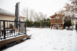 Photo 42: 100 Copperstone Crescent in Winnipeg: Southland Park Residential for sale (2K)  : MLS®# 202026989