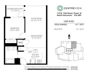 "Photo 3: 601 112 E 13TH Street in North Vancouver: Central Lonsdale Condo for sale in ""ENTREVIEW"" : MLS®# R2527672"