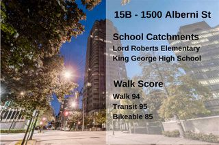 "Photo 33: 15B 1500 ALBERNI Street in Vancouver: West End VW Condo for sale in ""1500 ALBERNI"" (Vancouver West)  : MLS®# R2468252"