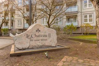 "Photo 1: 309 98 LAVAL Street in Coquitlam: Maillardville Condo for sale in ""LE CHATEAU II"" : MLS®# R2449582"