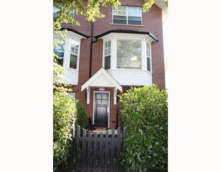 "Photo 1: 852 W 15TH Avenue in Vancouver: Fairview VW Townhouse for sale in ""REDBRICKS"" (Vancouver West)  : MLS®# V790178"