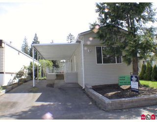 "Photo 1: 187 3665 244TH Street in Langley: Otter District Manufactured Home for sale in ""LANGLEY GROVE ESTATES"" : MLS®# F2908625"