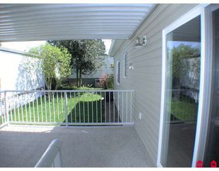 "Photo 10: 187 3665 244TH Street in Langley: Otter District Manufactured Home for sale in ""LANGLEY GROVE ESTATES"" : MLS®# F2908625"