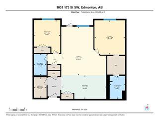 Photo 40: 101 1031 173 Street SW in Edmonton: Zone 56 Condo for sale : MLS®# E4223947
