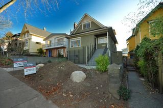 "Photo 1: 2056 E 3RD Avenue in Vancouver: Grandview VE House for sale in ""COMMERCIAL DRIVE"" (Vancouver East)  : MLS®# V799384"