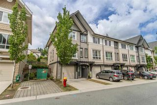 "Main Photo: 10 1305 SOBALL Street in Coquitlam: Burke Mountain Townhouse for sale in ""Tyneridge"" : MLS®# R2398580"