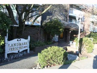 "Photo 1: 217 3875 W 4TH Avenue in Vancouver: Point Grey Condo for sale in ""LANDMARK JERICHO"" (Vancouver West)  : MLS®# V814610"