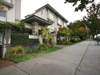"Photo 1: 36 2375 W BROADWAY in Vancouver: Kitsilano Condo for sale in ""TALLESIN"" (Vancouver West)  : MLS®# V816733"