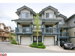 "Photo 1: 84 19250 65TH Avenue in Surrey: Clayton Townhouse for sale in ""SUNBERRY COURT"" (Cloverdale)  : MLS®# F1012417"
