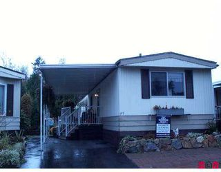 "Photo 1: 3665 244 Street in Langley: Otter District Manufactured Home for sale in ""Langley Grove Estates"" : MLS®# F2624909"
