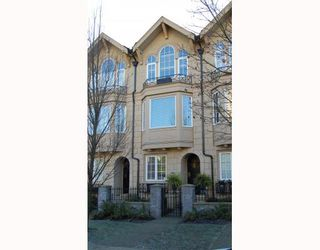 "Photo 1: 906 W 13TH Avenue in Vancouver: Fairview VW Townhouse for sale in ""THE BROWNSTONE"" (Vancouver West)  : MLS®# V812417"