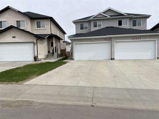 Main Photo: 16809 60 Street NW in Edmonton: Zone 03 House Half Duplex for sale : MLS®# E4199218