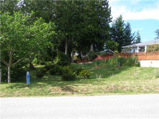 Main Photo: # LOT G HEATHER RD in Sechelt: Sechelt District Home for sale (Sunshine Coast)  : MLS®# V820849