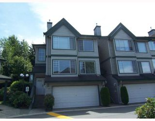 "Photo 1: 34 7465 MULBERRY Place in Burnaby: The Crest Townhouse for sale in ""SUNRIDGE"" (Burnaby East)  : MLS®# V744555"