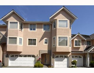 "Photo 1: 27 8031 GENERAL CURRIE Road in Richmond: Brighouse South Townhouse for sale in ""PARKFORD GARDEN"" : MLS®# V747776"
